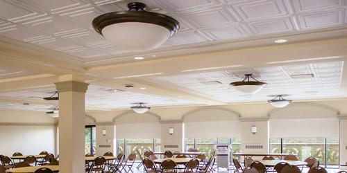 Encuentran solución estética para techos acústicos