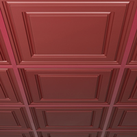 EZ-On Drop Ceiling Grid Covers Wall