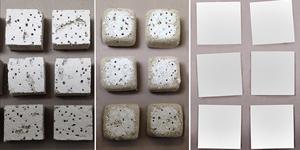 Ceilume vs mineral fiber friability test