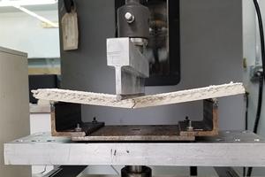 Mineral fiber ceiling panels break at relatively low loads.
