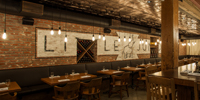 Renovations Transform Historic Structure Into Restaurant and Bar with a Speakeasy Feel