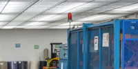 Construction costs and maintenance requirements with luminous ceilings