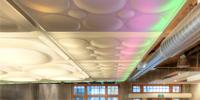 Ceilings Become Transluminous