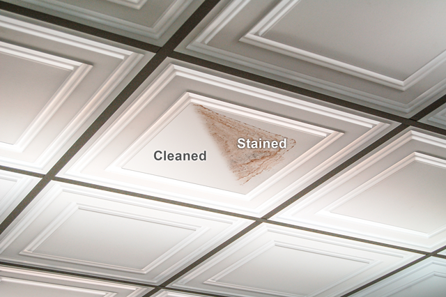 Stain Resistant Ceiling Tile
